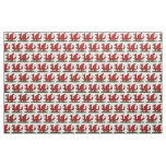 Red Dragon of Wales Fabric