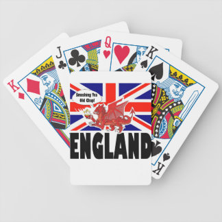 Red Dragon of Wales Poker Deck