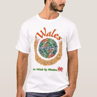 Red Dragon of Wales T shirt