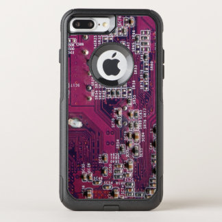 Red Electronic Circuit Board OtterBox Commuter iPhone 8 Plus/7 Plus Case