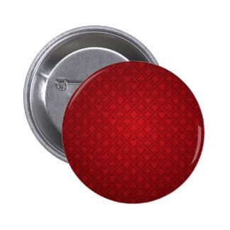 Red Felt Poker Table Design 6 Cm Round Badge