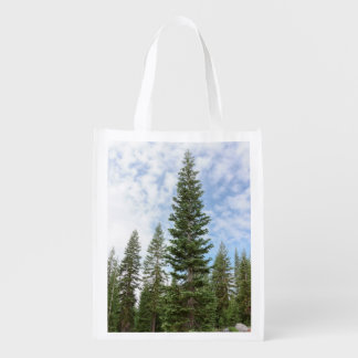 Red Fir Trees on Mt Shasta Reusable Bag
