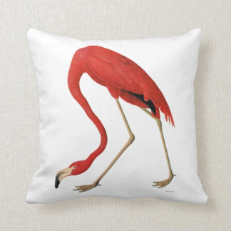 Red Flamingo Pillow
