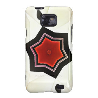 Red flower - Japan style Galaxy SII Case