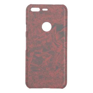 Red Flower Print Uncommon Google Pixel Case