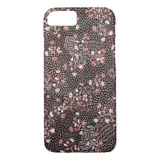 Red Flowers Batik iPhone 8/7 Case