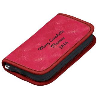 Red Folio Mini Planner