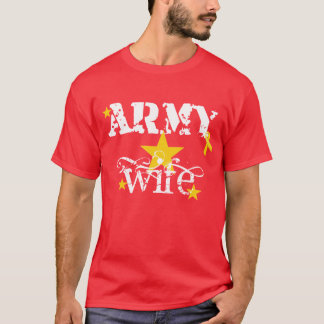 Red Friday Army Wife Shirt