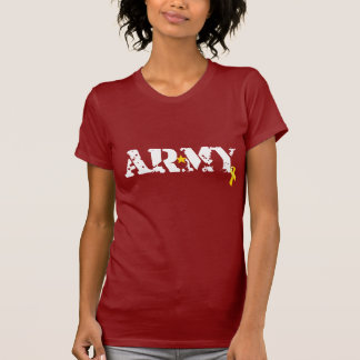 Red Friday ARMY Yellow Ribbon Fitted Shirt
