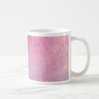 Red Galaxy Basic White Mug