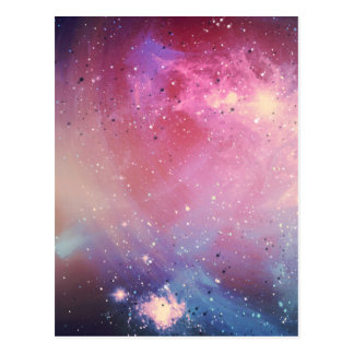 Red Galaxy Postcard