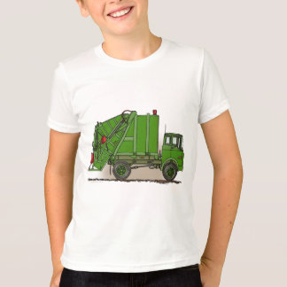 Red Garbage Truck T-Shirt