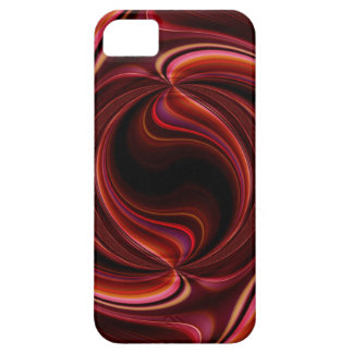 Red Glow 2 red & pink Iphone case