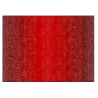 Red Glow Cutting Board