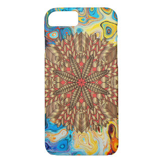 Red Gold Fall Nature Festival iPhone 8/7 Case