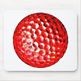 Red Golf Ball1 jGibney The MUSEUM Zazzle Gifts Mousepad
