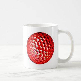 Red Golf Ball1 jGibney The MUSEUM Zazzle Gifts Mugs