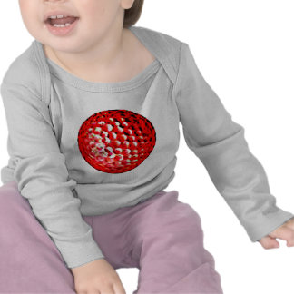Red Golf Ball1 jGibney The MUSEUM Zazzle Gifts T Shirt