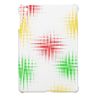 Red, green and yellow case for the iPad mini