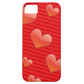Red Hearts for I phone case iPhone 5 Covers