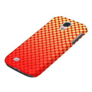 Red Hot Polka Dot Yellow Fade Samsung Galaxy Case