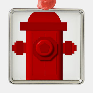 red hydrant items christmas ornament