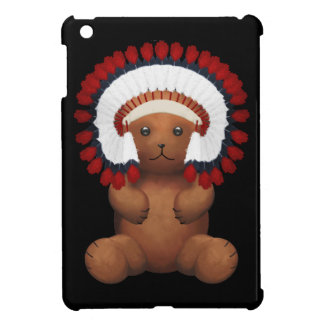 Red Indian chief Teddy Bear Cover For The iPad Mini