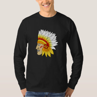 Red Indian Head T Shirts