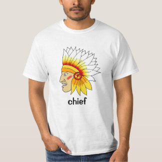 Red Indian Head Tee Shirt