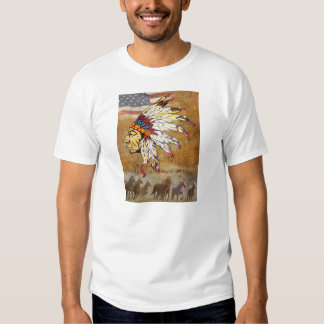 RED INDIAN T SHIRT