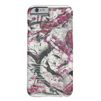 Red Iphone 6 Case Original Finger Paint Art