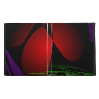 Red Iris Art iPad Folio Cover
