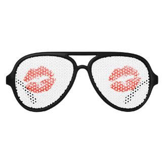 Red Kiss Lipstick Temporary Tattoos