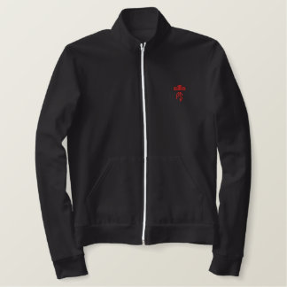 Red Letter Day Embroidered Fleece Jacket