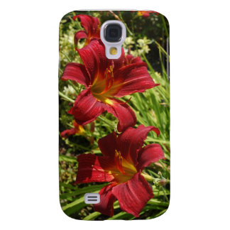 Red Lilies Galaxy S4 Case