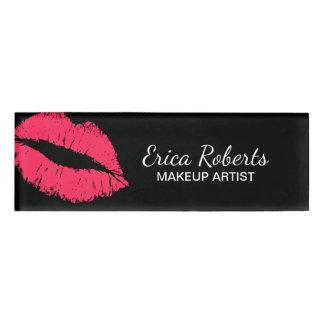 Red Lips Kiss Makeup Artist Beauty Salon