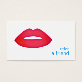 Red Lips Refer A Friend Coupon Salon