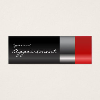 Red lipstick Appointment Card