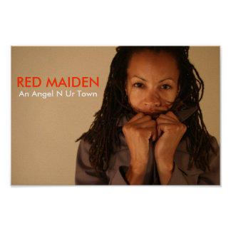 RED MAIDEN N C.O. POSTER