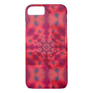 Red Mandala Kaleidoscope iPhone 8/7 Case