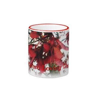 Red Maple Keys Botanical Fathers Day Coffee Mug
