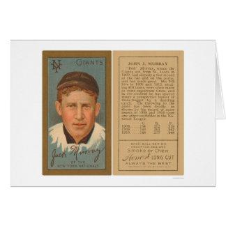 Red Murray Giants Baseball 1911 Card