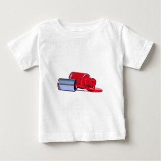 Red Nail Polish Baby T-Shirt