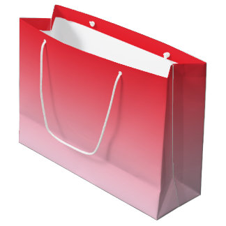 Red Ombre Large Gift Bag