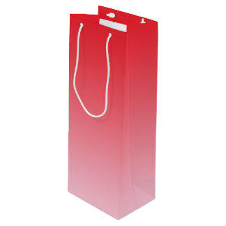 Red Ombre Wine Gift Bag