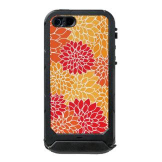 Red/Orange Floral Pattern ATLAS iPhone 5 Case Incipio ATLAS ID™ iPhone 5 Case