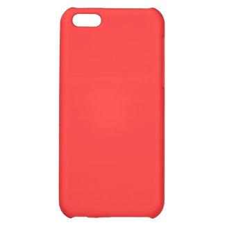 Red Orange iPhone 5C Cover