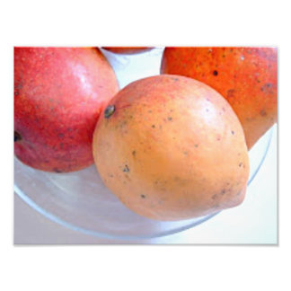 Red orange mangoes with vitamin A Photo