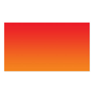 Red & Orange Ombre Business Card