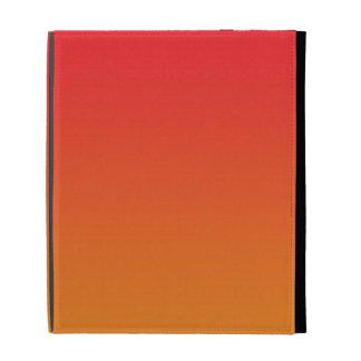 Red & Orange Ombre iPad Folio Case